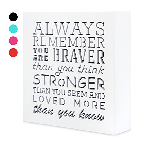 always remember you are braver than you think 5 5 x 5 5in by  u2026
